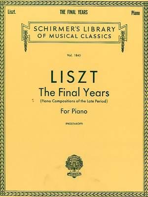 Franz Liszt: Final Years