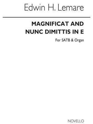 Edwin H. Lemare: Magnificat And Nunc Dimittis In E