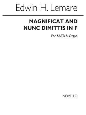 Edwin H. Lemare: Magnificat And Nunc Dimittis In F (Novello)