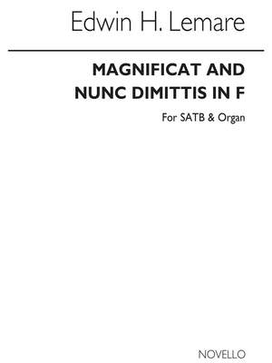 Edwin H. Lemare: Magnificat And Nunc Dimittis In F (Cocks Edition)