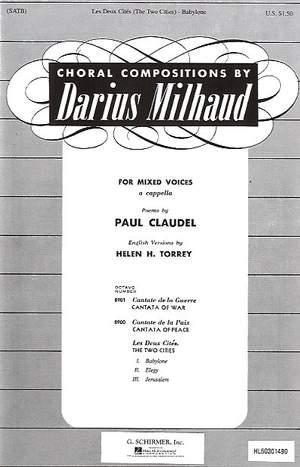 Darius Milhaud: Babylone