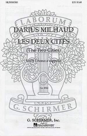 Darius Milhaud: Elegie