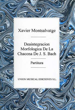 Xavier Montsalvatage: Desintegracion Morfologicade