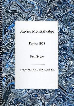 Xavier Montsalvatage: Partita 1958