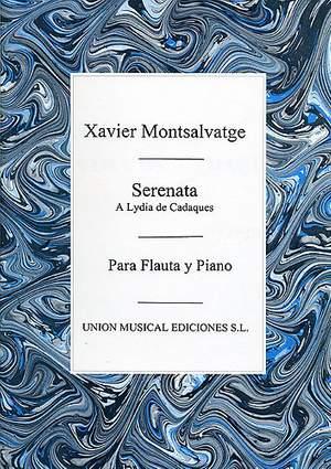 Xavier Montsalvatage: Serenata A Lydia De Cadaques