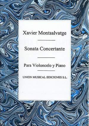 Xavier Montsalvatage: Sonata Concertante