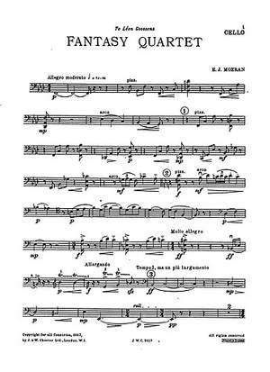 E.J. Moeran: Fantasy Quartet