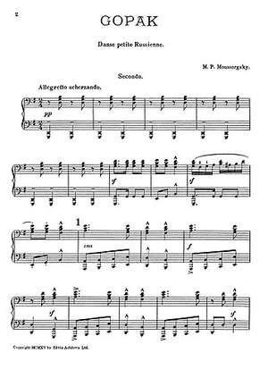 Modest Mussorgsky: Gopak