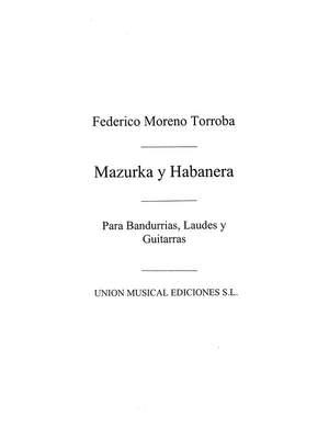 Mazurka Y Habanera De Luisa Fernanda