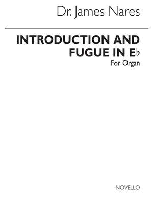 James Nares: Introduction And Fugue In E Flat