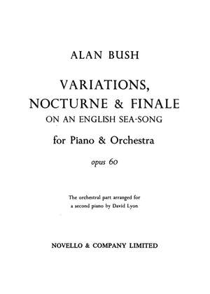 Alan Bush: Variations Nocturne And Finale For 2 Pianos