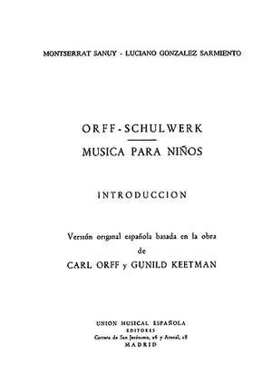 Musica Para Ninos Introduction, (Version Espanola)