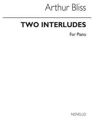 Arthur Bliss: Two Interludes for Piano