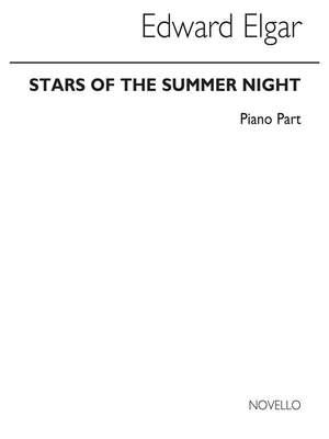 Edward Elgar: Stars Of The Summer Night (Piano Part)