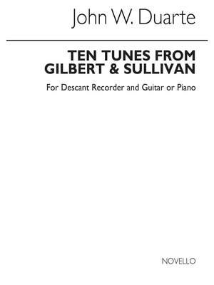 John W. Duarte: Ten Tunes From Gilbert & Sullivan