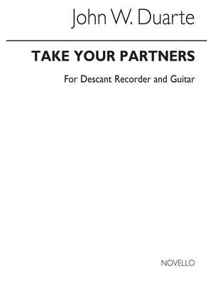 John W. Duarte: Take Your Partners for Descant Recorder and Guitar