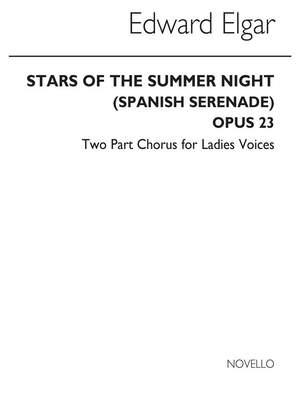 Edward Elgar: Stars Of The Summer Night (Violin 1 Part)
