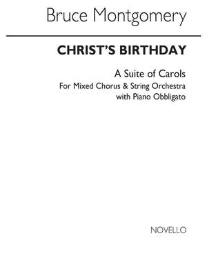 Bruce Montgomery: Christ's Birthday