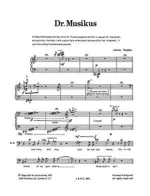 Antony Hopkins: Dr Musikus Children's Opera
