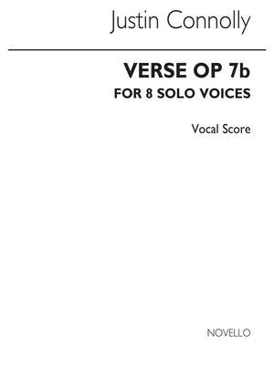 Justin Connolly: Verse Op.7b