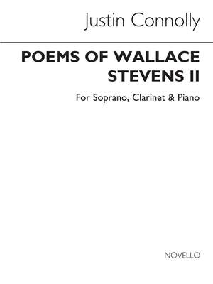 Justin Connolly: Poems Of Wallace Stevens (Parts)