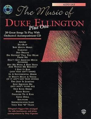 Ellington, Duke The Music Of Plus One Tenor Saxophone Book/Cd