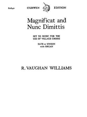Ralph Vaughan Williams: Magnificat and Nunc Dimittis
