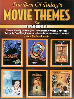 The Best Of Today's Movie Themes For Alto Sax