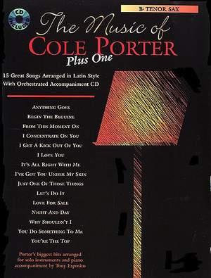 The Music Of Cole Porter Plus One: B Flat Tenor Saxophone