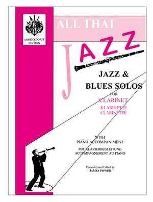 James Power: All That Jazz For Clarinet