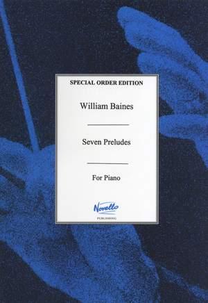 William Baines: Seven Preludes