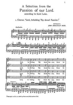 J. Michael Diack_Johann Sebastian Bach: St. Luke's Passion- A Selection