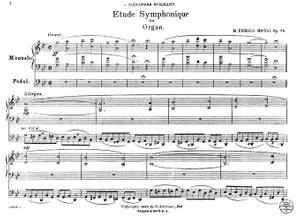 M. Enrico: Etude Symphonique Op.78