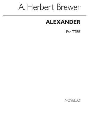 A. Herbert Brewer: Alexander