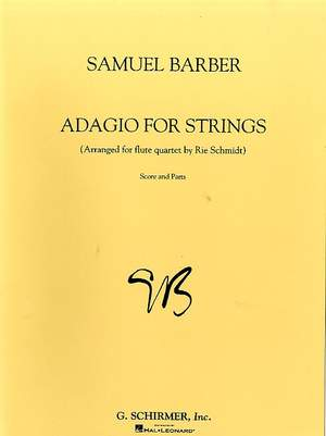 Samuel Barber: Adagio For Strings Arranged For Flute Quartet