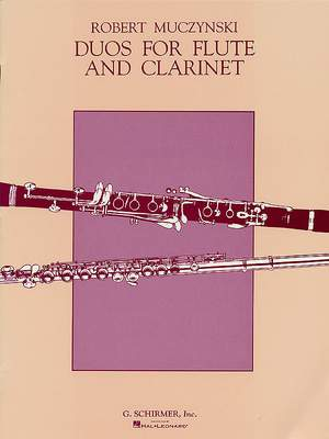 Robert Muczynski: Duos, Op. 24