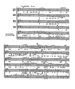 William Byrd: Ego Sum Panis Vivus (Collins) Satb (L)