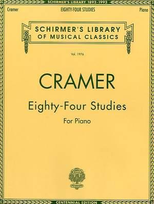 Johann Cramer: 84 Studies for Piano