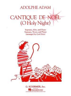 Adolphe Charles Adam: Cantique De Noel Vocal Duet