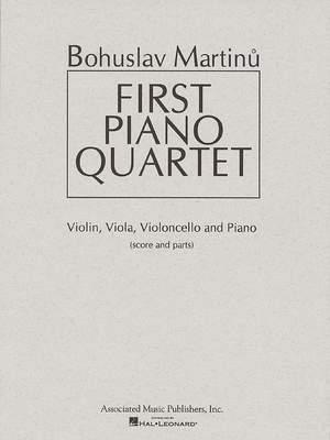 Bohuslav Martinu: First Piano Quartet