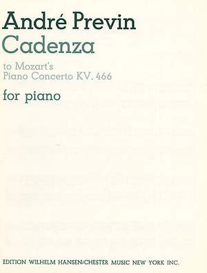 André Previn_Wolfgang Amadeus Mozart: Cadenza