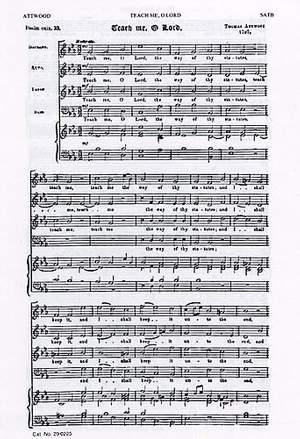 Georg Friedrich Händel_Thomas Attwood: Teach Me O Lord / O God In Thy Heavenly Hand