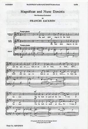 Francis Jackson: Magnificat And Nunc Dimittis (Hereford)