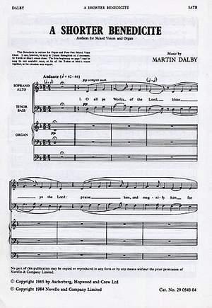 Martin Dalby: Shorter Benedicte