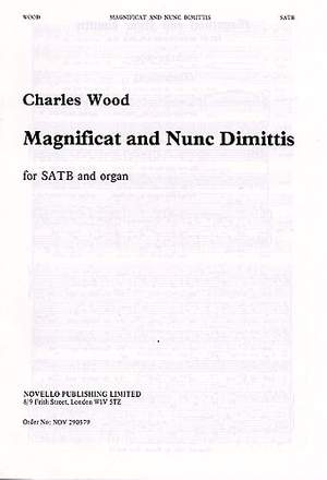 Charles Wood: Magnificat And Nunc Dimittis In E Flat No. 1