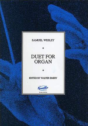 Samuel Wesley: Duet For Organ No.19