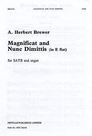 A. Herbert Brewer: Magnificat And Nunc Dimittis In E Flat