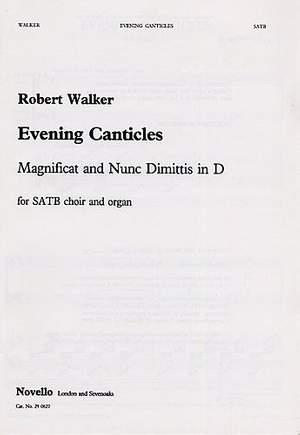 Robert Walker: Evening Canticles