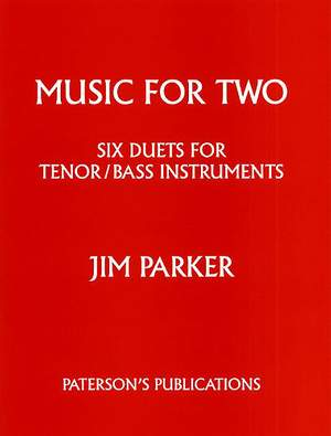 Jim Parker: Jim Parker: Music For Two