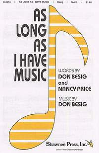 Don Besig_Nancy Price: As Long As I Have Music